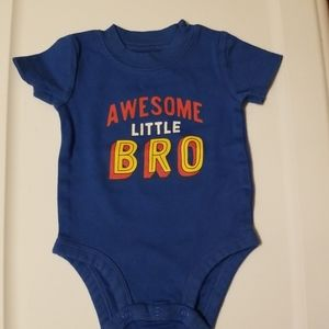 Awesome little bro onesie